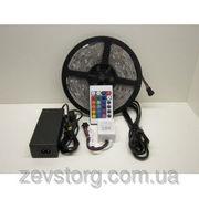 Светодиодная лента многоцветная RGB 3528 60 LED 5 м