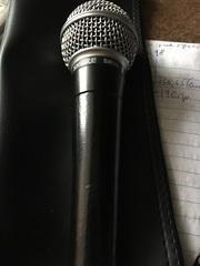 Продаётся легендарный Микрофон SHURE SМ58
